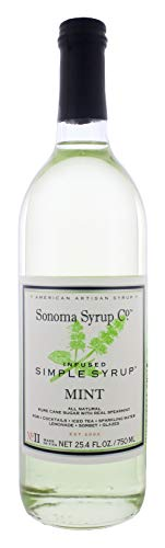 Sonoma Syrup Co. Mint Infused Simple Syrup 25.4 FL OZ (Mint)