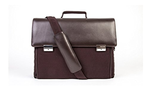 flight laptop netbook case bag travel Brown Computer leather carry Tucano bag 7qTS1cH