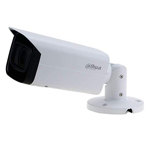 Dahua 6MP IP Camera IPC-HFW4631H-ZSA,2.7-13.5mm Motorized Varifocal Lens Optical Zoom, IR 80m Day and Night,Built-in Mic and SD Card Slot,IP67, Smart H.265 ONVIF