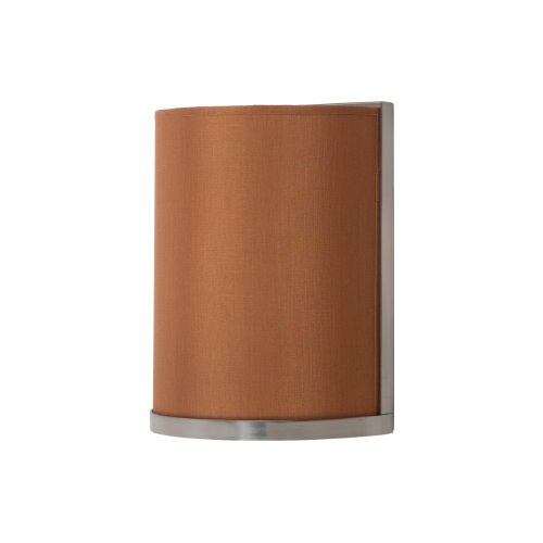 Lights Up! RS-4035BN-GOL Meridian Small Sconce, Brushed Nickel Finish