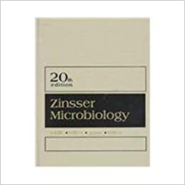 Zinssers Textbook of Bacteriology 9th Edition
