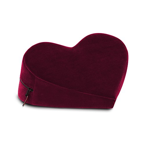 Liberator Heart Wedge Pillow, Red
