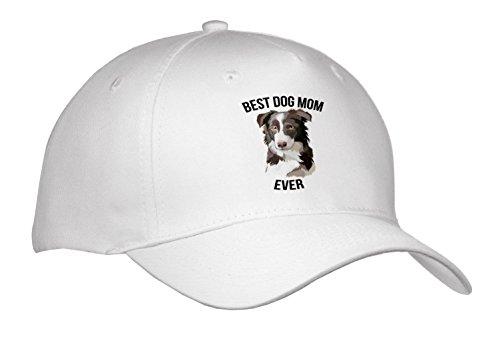 Carsten Reisinger - Illustrations - Best Border Collie Dog Mom Ever - Caps - Adult Baseball Cap (Cap_273511_1)