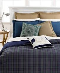 Ralph Lauren BlackWatch Reversible Down Alternative Comforter - KING Size