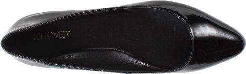 Nine West de Speakup Ballet Flat Black Patent Synthetic