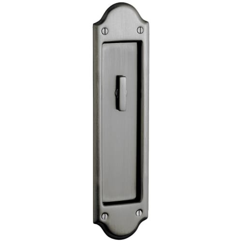 (Baldwin PD016.KT Boulder Style Pocket Door Interior Privacy Trim from the Estate, Lifetime Polished Brass)