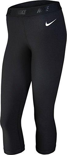 Nike Ladies Solid Capri Tights - BLACK Women's 744822-010 (Medium) Nike Golf Ladies Body