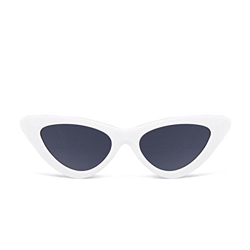 MOKAO Polarized Sunglasses Fashion Cat Eye Shades Sunglasses Integrated UV Candy Colored Glasses - Sunglasses Trendy Online