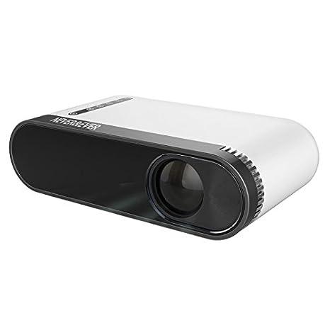Wewoo Proyector LED Cine de casa Alta luminosidad Mini proyector ...