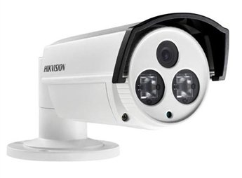 Hikvision DS-2CD2232-I5 (6MM) EXIR IP Bullet Camera, 3MP, H.264 and MJPEG, Full HD 1080P Real Time Video, 6 mm Lens, IR to 50M