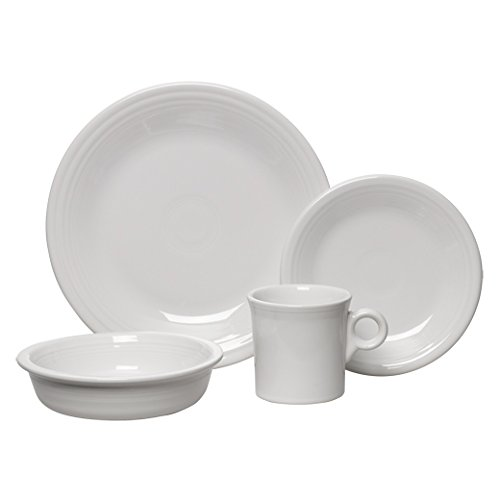 White 4 Piece Place Setting - 3