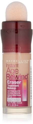 Maybelline Instant Age Rewind Eraser Treatment Makeup, Pure Beige, 0.68 fl. oz.