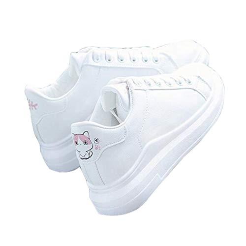 レディース 厚底靴 ヒールスニーカー レースアップ カジュアルシューズ バックプリント 革靴 スポーツシューズ 歩きやすい カジュアルシューズ コンフォート 身長UP 防水 防滑 運動靴 ウォーキング ランニング