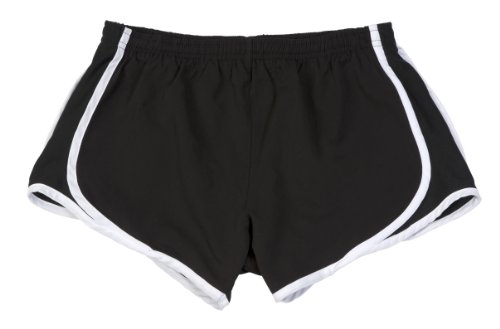 Price comparison product image HTC BUNDLE: Athletic Shorts, Dri Fit Gym or Play Shorts & Garment Guide, Black-S
