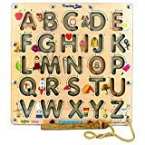 MFM TOYS Trace-The-Letter Game English Uppercase Alphabets by MFM TOYS