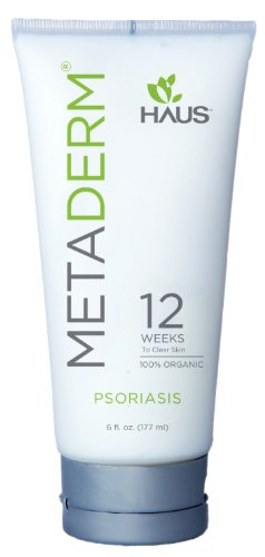 MetaDerm organique Psoriasis Crème Hydratante (6 oz).
