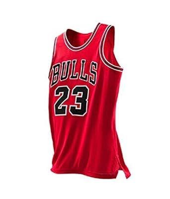 VICTOREM NBA Michael Jordan #23 Camiseta de Baloncesto para Hombres Chicago Bulls Retro Chaleco de Gimnasia Top Deportivo S-XXL