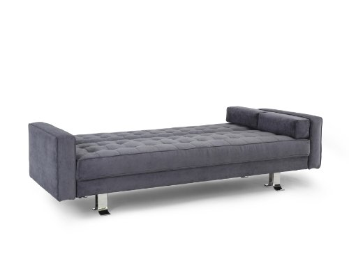 Rudolpho Convertible Sofa Charcoal