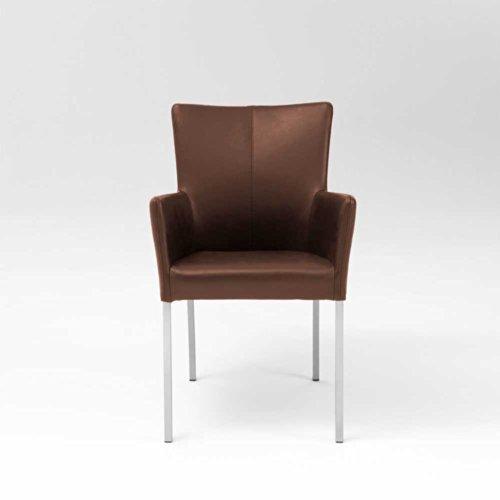 Esszimmer Sessel Renema aus Leder Pharao24