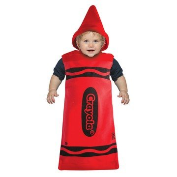 [Baby Red Crayola Bunting Costume Size 3-9 Months] (Rasta Baby Costume)