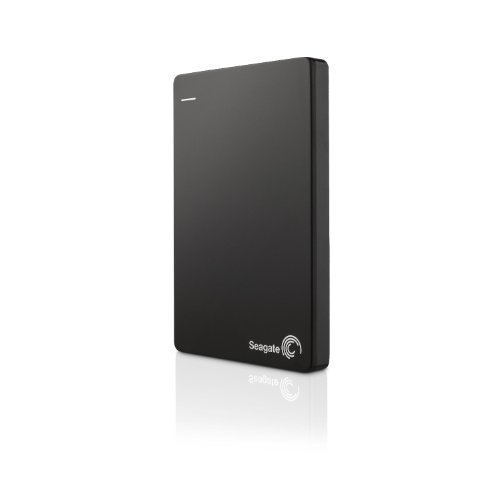 Seagate Backup Plus Slim 1TB Portable External Hard Drive with Mobile Device Backup USB 3.0 (Black) STDR1000100-(Renewed)