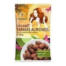 Unfi Organic Dry Roasted Tamari Almond, 1 Pound -- 10 per case.