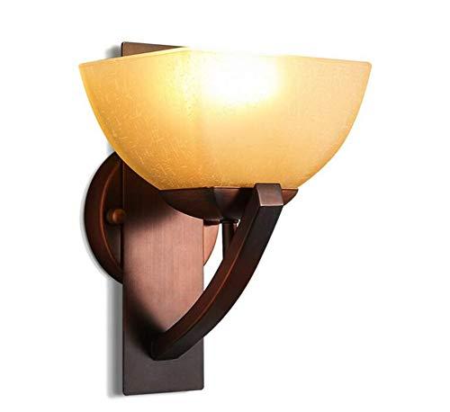 Ceiling Lamp Personnalité Créative En Métal En Verre Abat-Jour Applique E27 Restaurant Applique Murale Maison Chambre Salon Lanterne Murale Décoration Luminaire