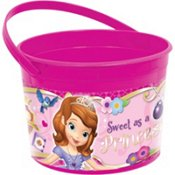 Birthday Party Toys Favours Container, 1 Pieces, Made from Plastic, Pink, 4 1/2
