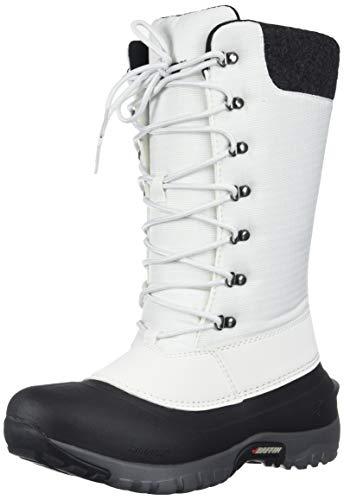 Baffin Womens Women's JESS Snow Boot, Black/White, 9 Medium US