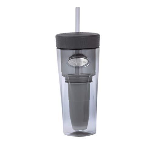 ZeroWater ZT-026Si, On-The-Go 26 Ounce Water Filter Tumbler, Silver