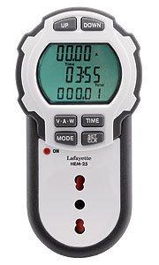 4 opinioni per HEM-25 Misuratore d'energia con spina ITA/DE 33106940 La Fayette