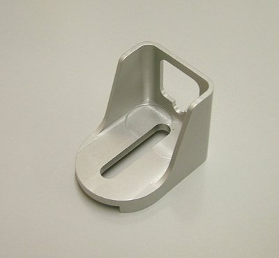 Speed 1250 Billet Alum Kickdown Cable Bracket Add On GM