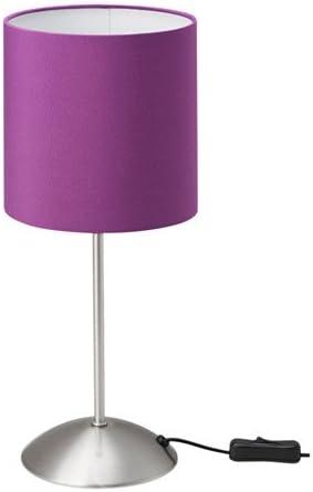 Zigzag Trading Ltd IKEA TIARP Lámpara de Mesa de luz Lila