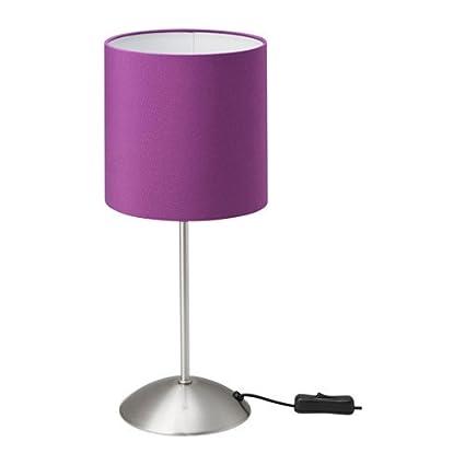 Zigzag Trading Ltd IKEA TIARP - Lámpara de Mesa de luz Lila