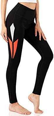 ALONG FIT High Waisted Leggings with Pockets Yoga Pants for Women Workout Tummy Control