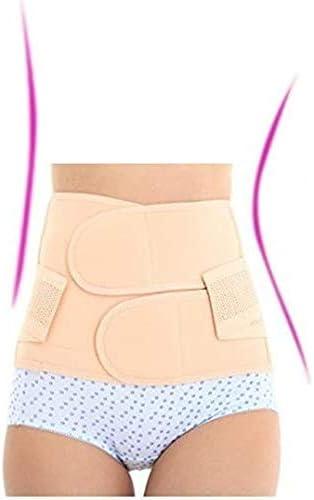 Healthcom Waist Slimming Belt Shaper Wrapper Band Abdomen Abdominal Binder Women Postnatal Pregnancy Belt-Support Postpartum Recoery Support Girdle Belt Belly,Size:S 2