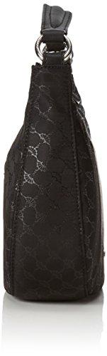 Joop! Nylon Cornflower Aja Hobo Shz - bolsa de medio lado Mujer negro (900)