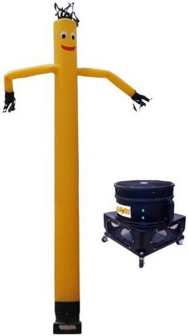 Lookourway Luft Dancers Inflatable Tube Mann und Blower Complete Set, Yellow, 20Ft