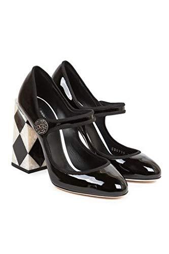 Dolce & Gabbana Women's Fashion Pumps Black (EU 39 (US 9))