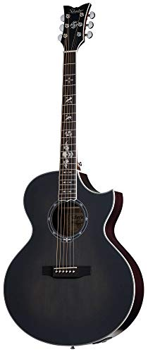 Hybrid Acoustic Electric Guitar - Schecter 3701 Synyster Gates-GA SC-Acoustic Guitar