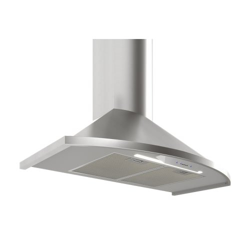 - Zephyr ZSAE30DS Essentials Europa Series 30 Inch Wall Mount Convertible Hood with 685 CFM Blower Supported, in Stainless Steel