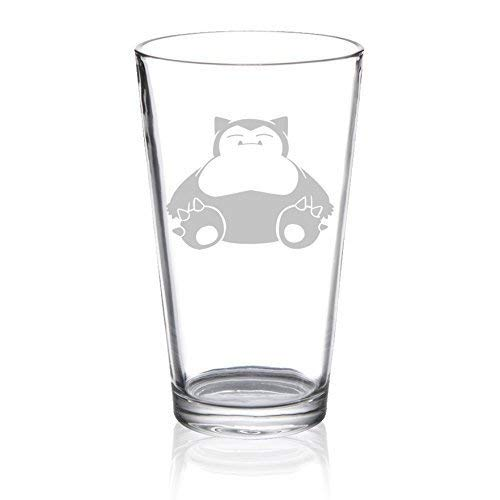 (Snorlax - Etched Pint Glass)