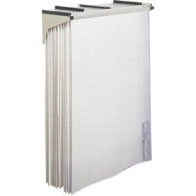 Safco Office Document Storage Pivot Drop/Lift Wall Rack