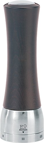 (Peugeot 25229 Madras U'Select Shaftless 8-Inch Pepper Mill, Chocolate)