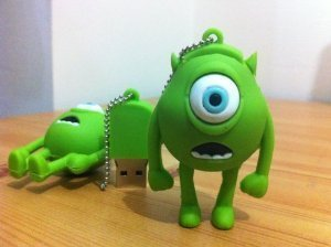 16GB Mini Mike, Wazowski, Monster Inc. Shaped Cute Cartoon USB Flash Drives, Data Storage Device, USB Memory Stick Pen, Thumb Drive from LeenCore