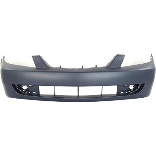 NorthAutoParts BL8D50031CAA Fits Mazda Protege Front Primered Bumper Cover MA1000180