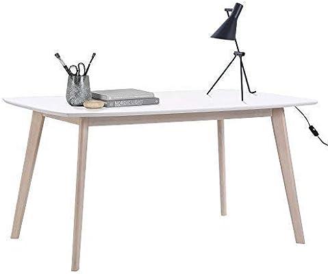 lounge-zone Escritorio Aniza Escandinavo diseño Home Oficina Mesa ...