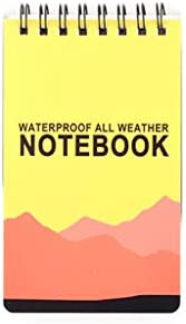 ruiruiNIE Wasserdichtes Notepad Language Learning Coil Book Vokabeltagebuch Notebook Travel