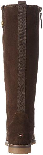 12b W1285endy 212 coffeebean Tommy Naisten Hilfiger Ruskea Nilkkurit 4qtRHHCAnx