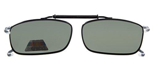 Eyekepper Sur-Lunettes de Soleil - UV Protection - Polarisation pince metallique Vert